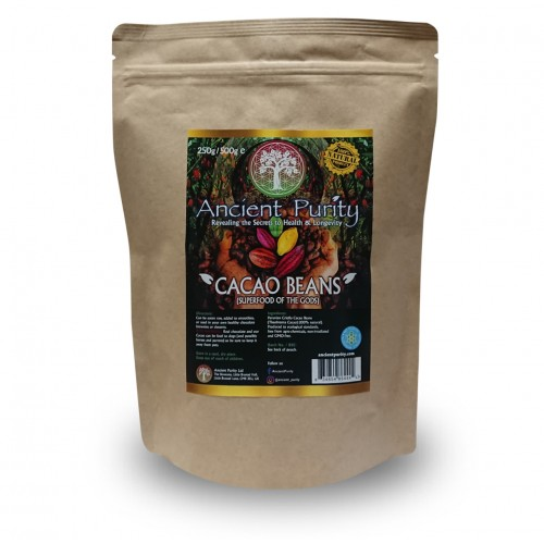 Cacao Beans (Peruvian Criolla / Raw) 250/500g