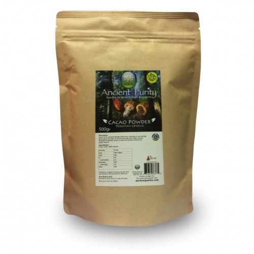 Cacao Powder (Peruvian Criolla, RAW) 500g