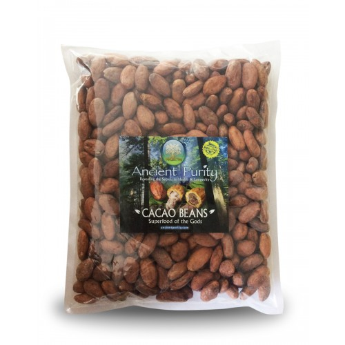 Cacao Beans - 500g (Peruvian, Raw Natural)