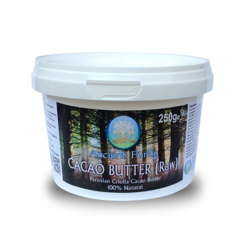 Cacao Butter (Raw) 250g