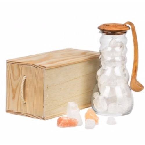 Cadus for Salt Brine - Jug with spoon