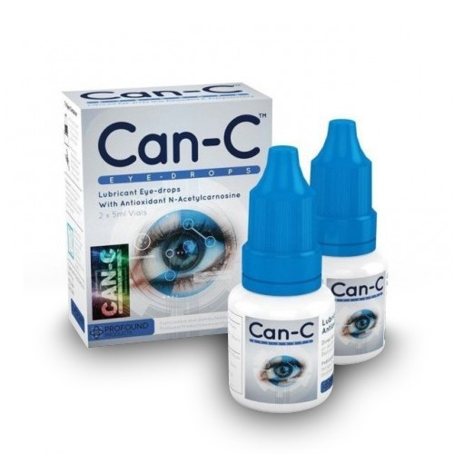 Can-C™ Eye-Drops / Capsules (Anti-Cataract) 2x5ml