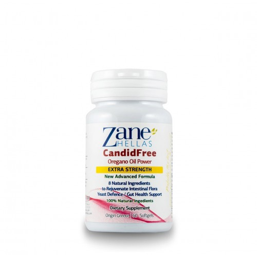 CandidFree (formerly Candida Stop) - 60 caps (Zane Hellas)