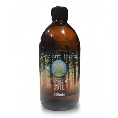 Castor Oil - 500ml (Castor Oil Pack)
