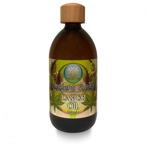 Castor Oil (for Castor Oil Pack) Edgar Cacye - 500ml