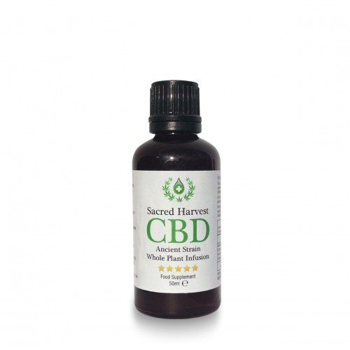 CBD Whole Plant Infusion (55% CBD) 50ml