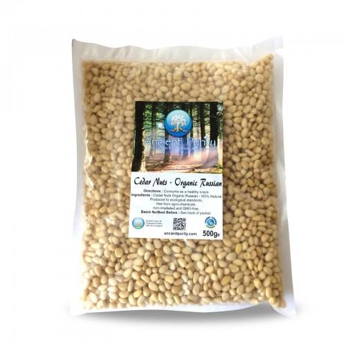 Cedar Nuts (Russian Organic) 500g