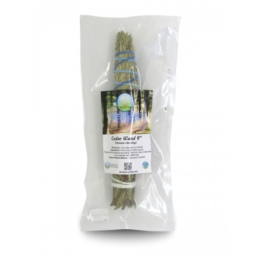 "Cedar Wand 9"" (Incense Clearing)"