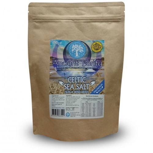 Celtic Sea Salt (Magnesium / 73+ Minerals) Real Salt - 250/500g