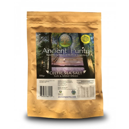 Celtic Sea Salt - 500g (No Magnesium Removed)