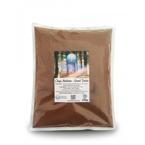Chaga Mushroom - Ground Powder 250/500g
