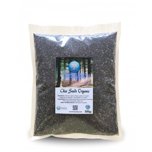 Chia Seeds (Magnesium/Calcium/Fibre/Protein) 500g