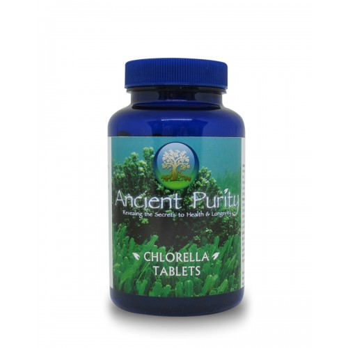 Chlorella Tablets 500mg - 250 tablets (Broken Cell Wall)