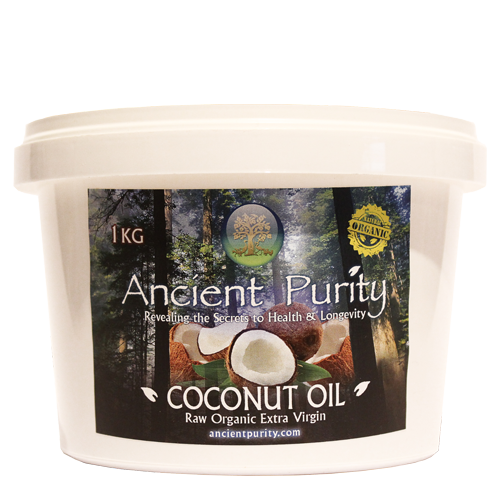 Coconut Oil - 1kg (Raw Extra Virgin unrefined )