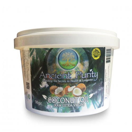 Coconut Oil (Raw Extra Virgin Unrefined) Brain Food - 1kg