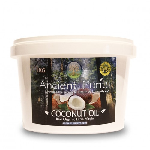 Coconut Oil - 1kg (Raw Extra Virgin unrefined )