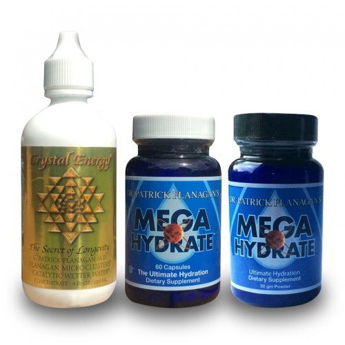 Megahydrate / Crystal Energy Pack (Dr Flanagan)