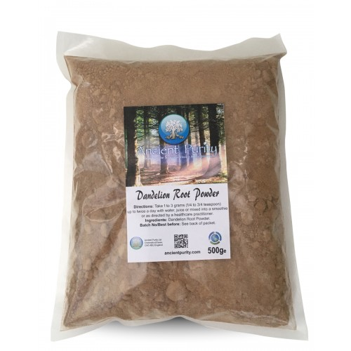 Dandelion Root Ground Powder - 500g (Vit A, C, D)