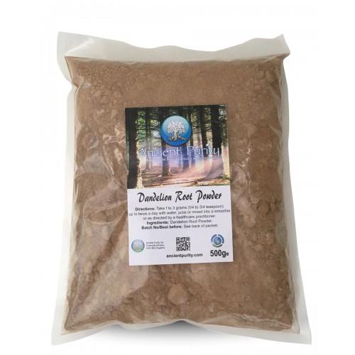 Dandelion Root Ground Powder - 500g (Vit A, C, D)