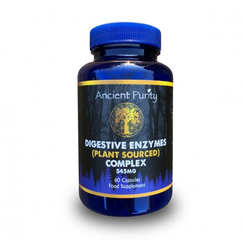 Digestive Enzyme Complex (Plant Sourced) 60 Caps