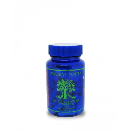 Digestive Enzyme Complex - 60 Capsules (Food Based)