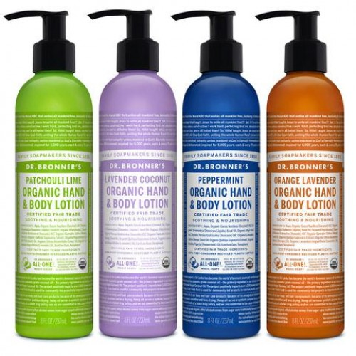 Hand & Body Lotion (Dr Bronner) 237ml