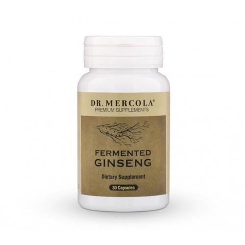 Ginseng (Fermented ) - 30 Caps (Dr Mercola)