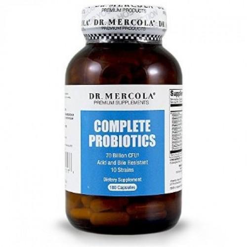Complete Probiotics - 60/180 Caps (Dr Mercola)