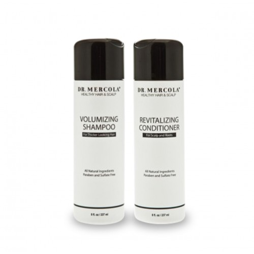 Shampoo Volumising / Conditioner  237ml Dr Mercola