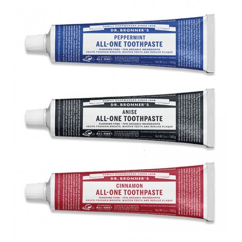Toothpaste Organic - Dr Bronner (Multiple Flavours)