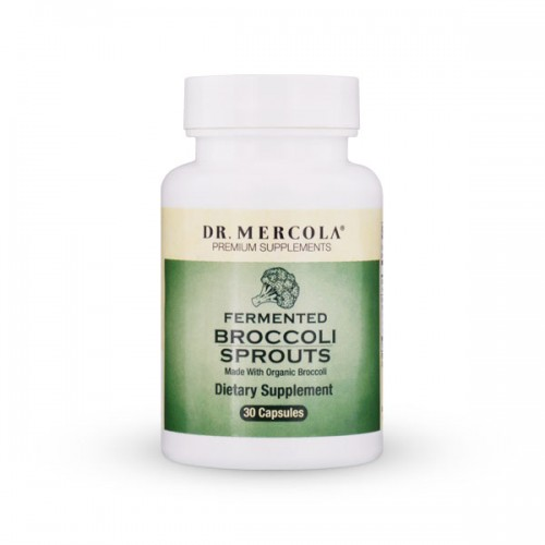 Broccoli Sprouts Fermented - 30 Caps (Dr Mercola)