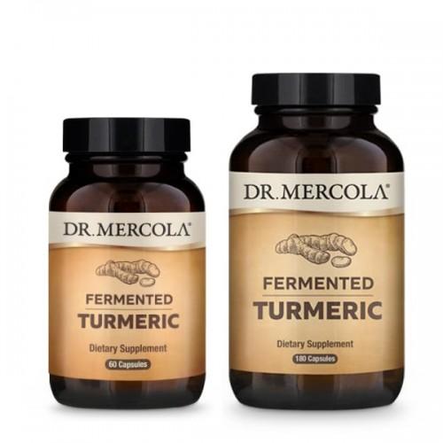 Fermented Turmeric (Dr Mercola) 60/180 Caps