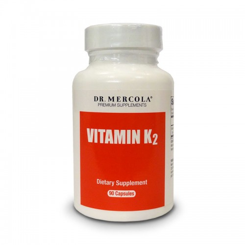 Vitamin K2 (Fermented Chickpea) Dr Mercola - 30/90 Caps