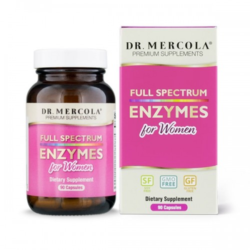 Digestive Enzymes For Women (Dr Mercola) 90 caps