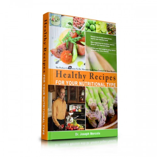 Dr Mercola - Healthy Recipes For Your Nutritional Type - Book (Hardback)