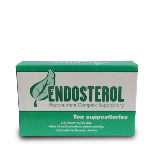 Endosterol (Prostate/Estrogen Detox) 10 Suppositories