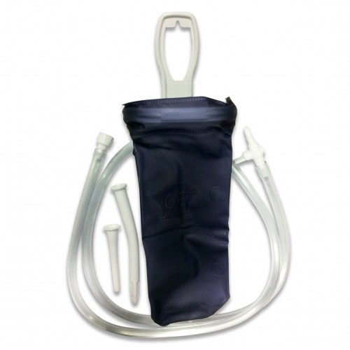 Enema Bag (Gravity Fed) + Accesories/Instructions 1.6L