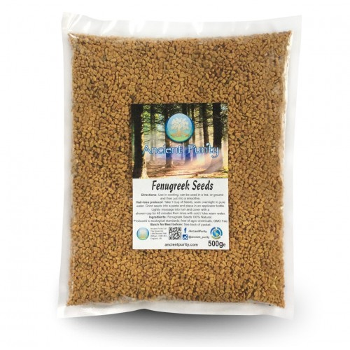 Fenugreek Seeds (Hair Protocol / Kidney Health) 500g