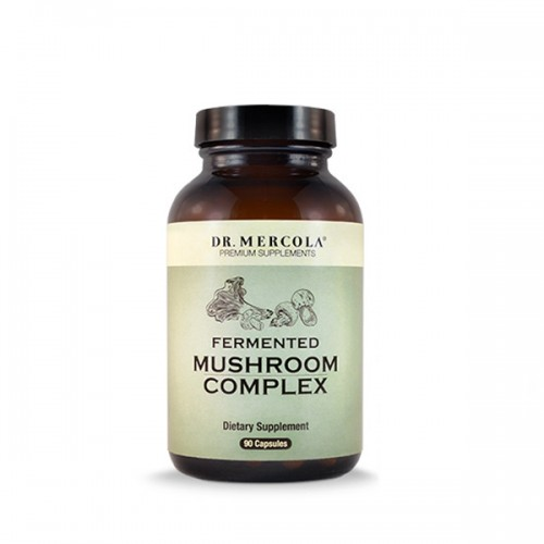 Fermented Mushroom Complex (Organic) - 90 Capsules (Mercola)