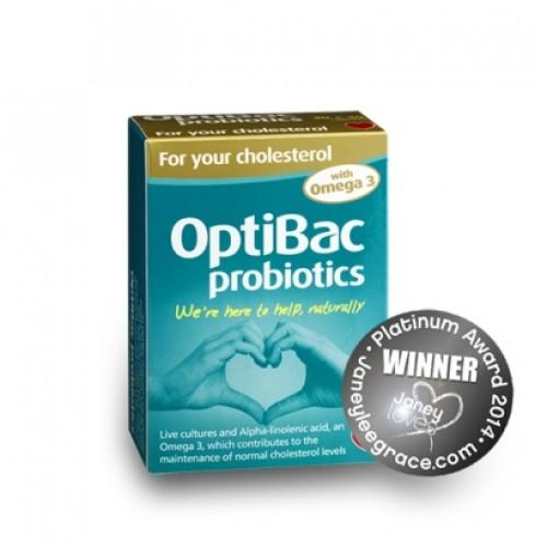 For your cholesterol Probiotics