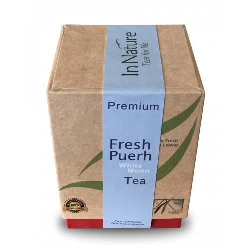 White Moon Fresh Puerh Tea Leaves - 50g
