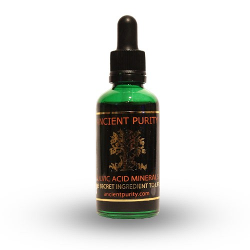 Fulvic Acid Minerals - 50ml (4 Months Supply)