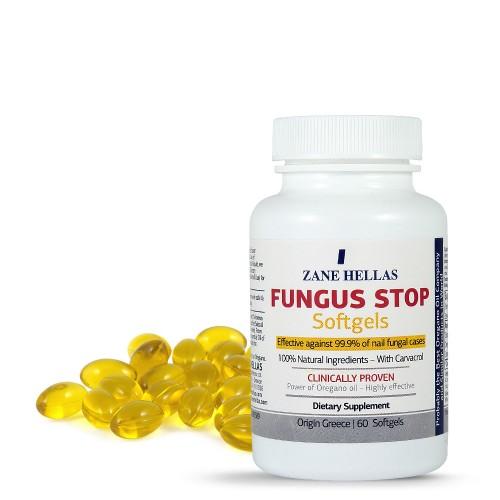 Fungus Stop Capsules - 60 (Oregano)