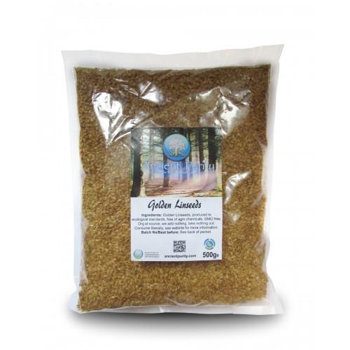 Golden Linseeds/Flax Organic - 500g