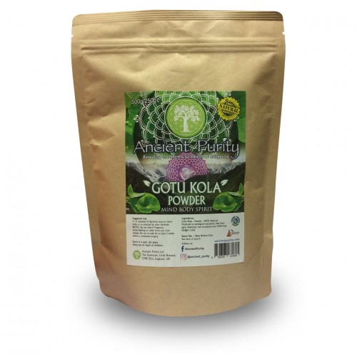 "Gotu Kola ""Brahmi"" (Mind Body Spirit) 500g"