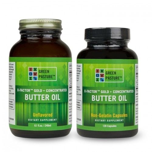 Butter Oil (X-Factor™ Gold) Concentrate - Caps/Oil