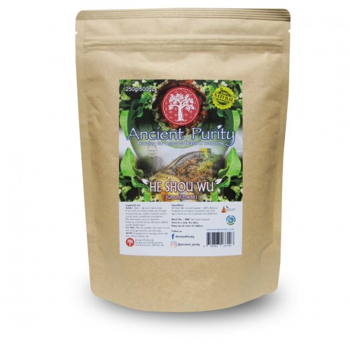 He Shou Wu Powder (Kidney / Hair / Fertility / Longevity) 250/500g