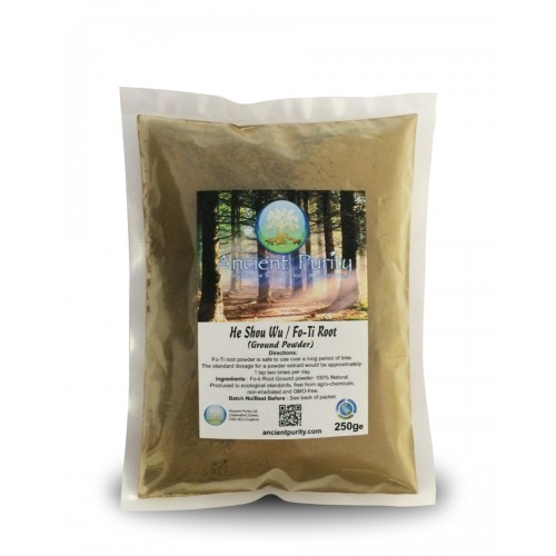 He Shou Wu / Fo-Ti Root - Powder (Kidney / Hair / Fertility) 250/500g