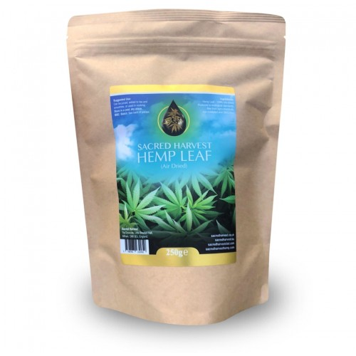 Hemp Leaf - Air Dried (Sacred Harvest) 125g