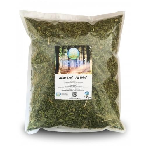 Hemp Leaf - Air Dried (250g)
